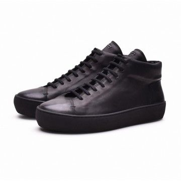 THE LAST CONSPIRACY - Herren Sneaker - RIKE - steer - black -