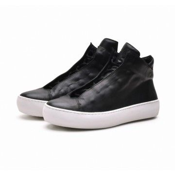 THE LAST CONSPIRACY - Herren Sneaker - RENATO steer - black/white -