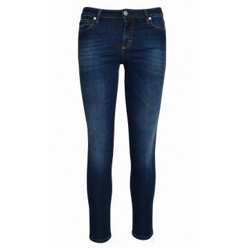 THE NIM - Damen Jeans - Holly Woman Jeans Skinny Ankle Fit - Dark