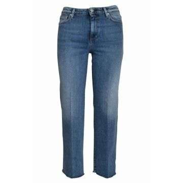 THE NIM - Damen Jeans - Cindy Cropped Flare Fit