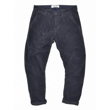 THE NIM - Herren Hose - Chino Tapered Cord - Iron