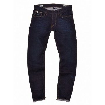 THE NIM - Herren Hose - Morrison Tapered Selvedge - Slim Fit - Raw Worked