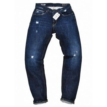 THE NIM - Herren Jeans - Morrison Japan Slim Tapered - Flash Broken