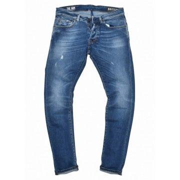 THE NIM - Herren Jeans - Dylan Slim Fit - Special Blue