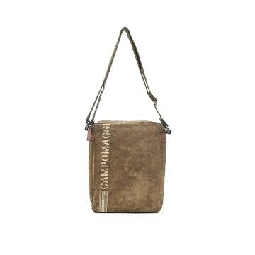 CAMPOMAGGI - Crossbody Tasche - Medium Canvas - Beige