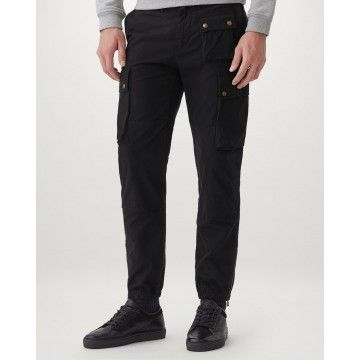 BELSTAFF - Herren Hose - Trialmaster Cargo Trouser - Black