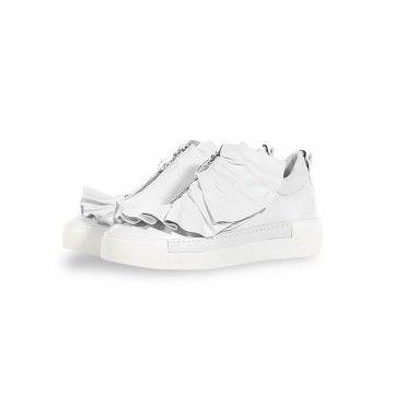 VIC MATIE - Damen Sneaker - Scarpa Velvet - White