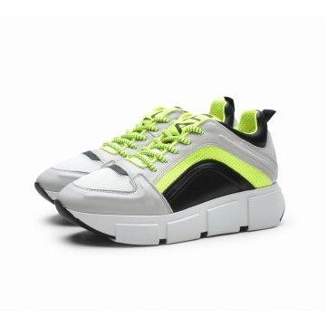 VIC MATIE - Damen Sneaker - Scarpa Velvet Air - Neongelb