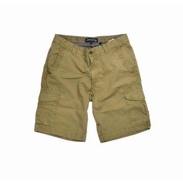 WOOLRICH - Men's Shorts - Cargo Short Elmwood - Khaki