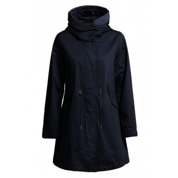 WOOLRICH - Damen Jacke - W's Over Parka - Dark Navy