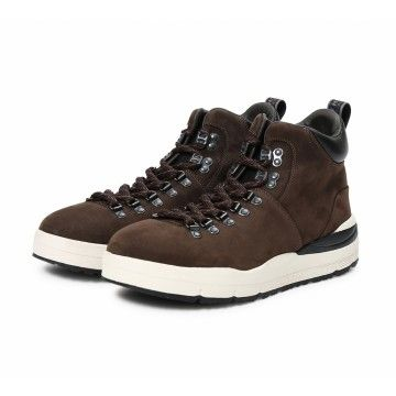 WOOLRICH - Herren Sneaker - Hiker Boot Nabuk - Brown
