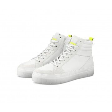 KENNEL & SCHMENGER - Damen Schuhe - Big - Bianco Yellow